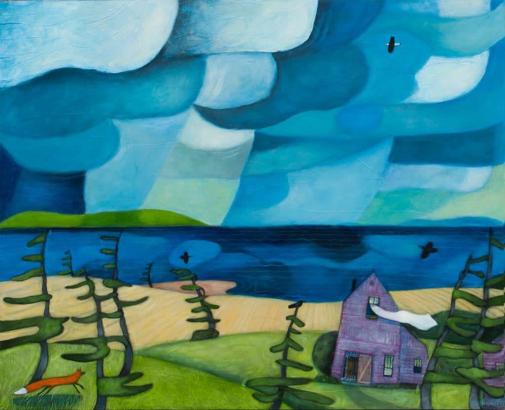 Feeling-the-Breeze Karen Gallant -24-x-30