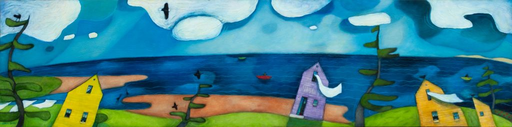 View-from-the-Shore-Karen Gallant 12×48
